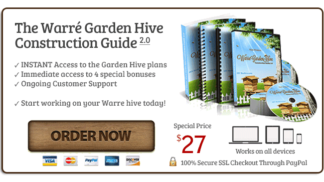 DIYBeehive com | Build Your Own Warre Garden Backyard Top Bar Bee Hive