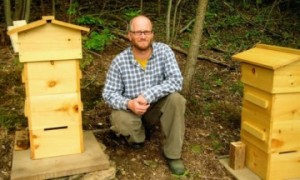 Jeff Hartman and His Warre Beehives